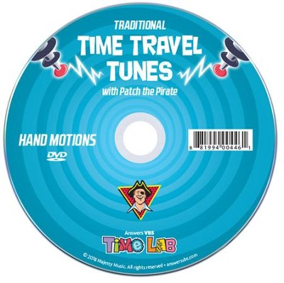 Time Lab: Hand Motions DVD (Traditional)  -