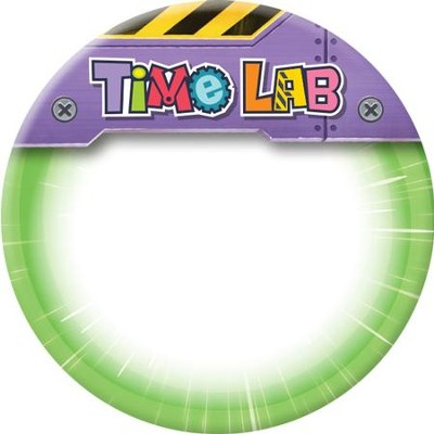 Time Lab: Name Button (pkg. of 10)  -