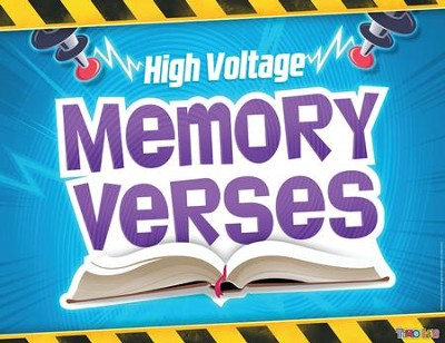 Time Lab: &#034High Voltage&#034 Bible Memory Verses Rotation Sign  -