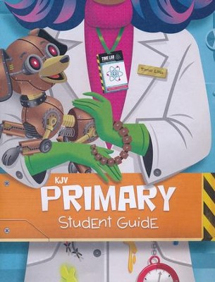 Time Lab: KJV Primary Student Guide (pkg. of 10)  -