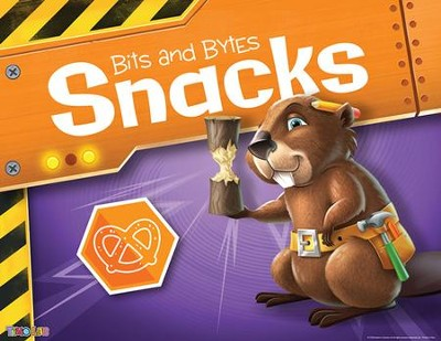 Time Lab: &#034Bits and Bytes&#034 Snacks Rotation Sign  -