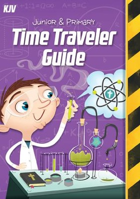 Time Lab: KJV Junior and Primary Time Traveler Guide and Sticker Set (pkg. of 10)  -
