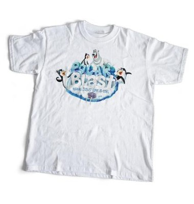 Polar Blast: Theme T-Shirt, Child Small (6-8)  -