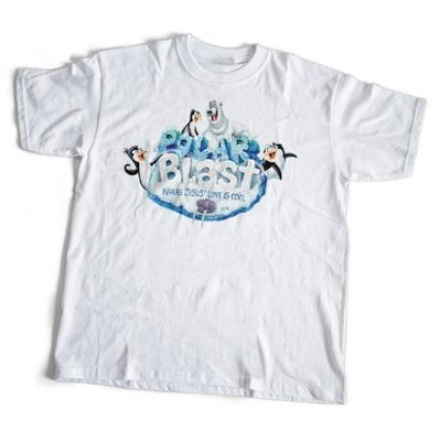 Polar Blast: Theme T-Shirt, Adult Medium (38-40)  -