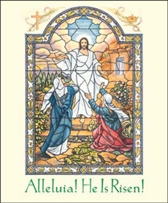 Alleluia, He is Risen Large Bulletins, 100   -