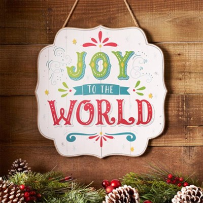 Joy to the World, Wall Plaque  -