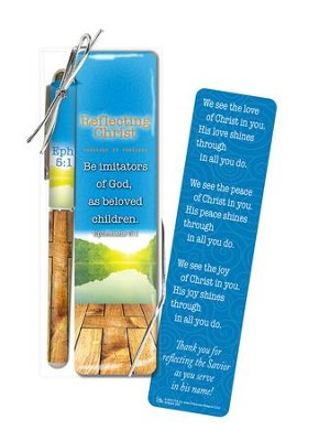 Reflect Christ, Pen and Bookmark Gift Set  -