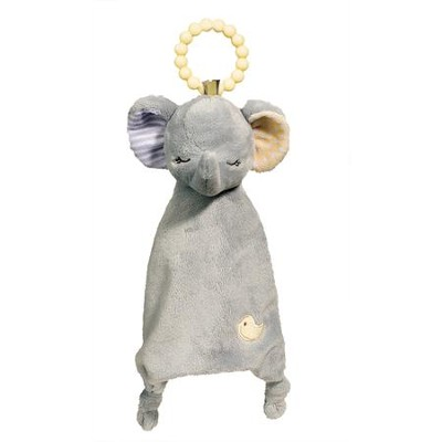 Gray Elephant Teether  -