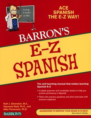 Barron's E-Z Spanish, 5th Edition   -     By: Ruth J. Silverstein