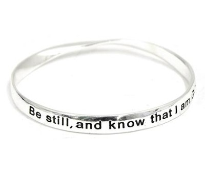 Be Still and Know Mobius Bracelet  -