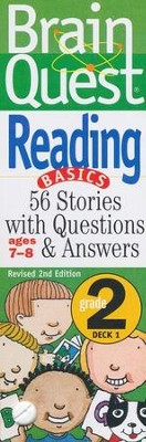 Brain Quest Grade 2 Reading, Revised 2nd Edition  -