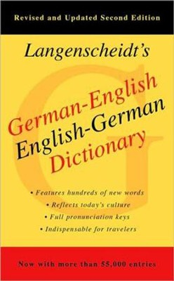 Langenscheidt's German-English, English-German Dictionary, Second Edition  -     By: Langenscheidt Publishers