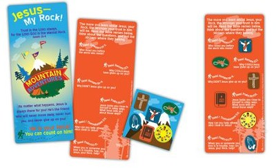 Mountain Adventures, Activity Card with 6 Repositionable Stickers  -