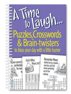 A Time to Laugh, Puzzles, Crosswords and Brain Twisters  -