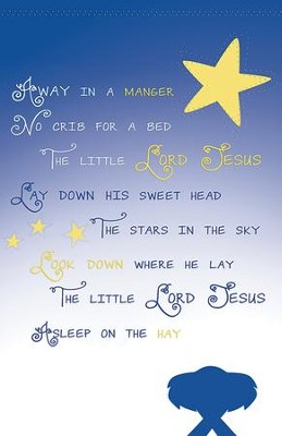 Away in the Manger Christmas Bulletins, 100  -