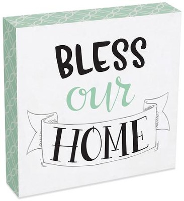 Bless Our Home Wall Plaque  -