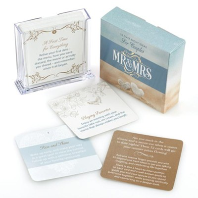 Mr. & Mrs. Date Night Ideas for Couples, Box of 52  -