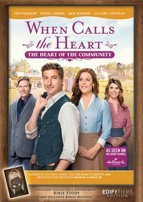 When Calls the Heart: The Heart of the Community, DVD   -
