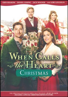 when calls the heart christmas dvd