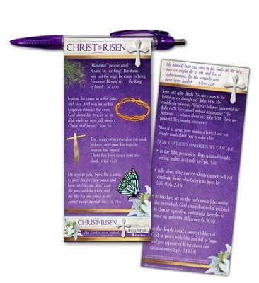 Christ Is Risen Pull-Out Banner Pen  -