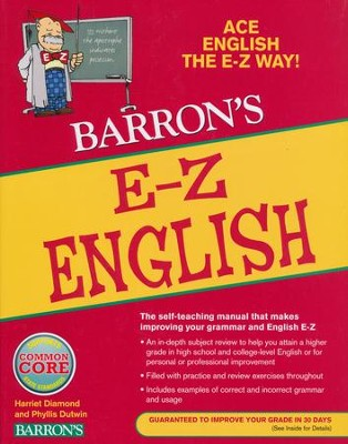 Barron's E-Z English   -     By: Harriet Diamond, Phyllis Dutwin