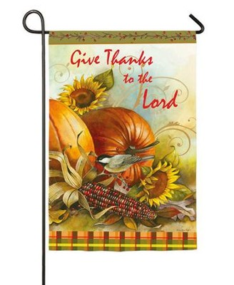 Give Thanks To The Lord, Small Flag   -     By: Sandy Clough