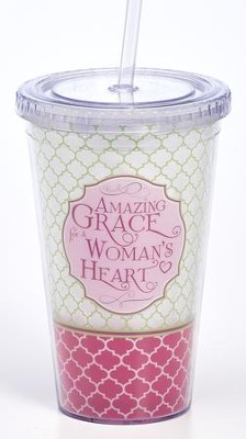 Amazing Grace For A Woman's Heart Tumbler  -