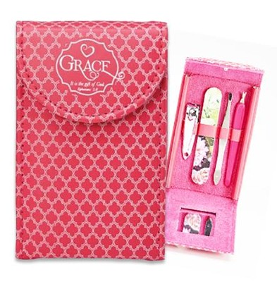 Grace, It Is the Gift From God Manicure Set  -