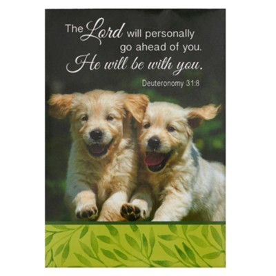 The Lord Will Personally Go Ahead of You, He Will Be With You Notepad  -