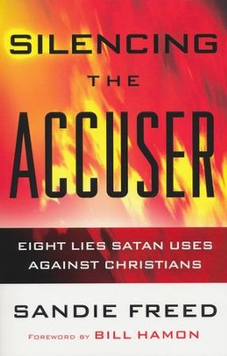 Silencing the Accuser: Eight Lies Satan Uses Against Christians - eBook  -     By: Sandie Freed