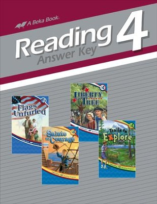 Abeka Reading, Answer Key--Grade 4  -