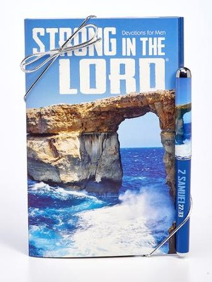 God Is My Strength and Power Book and Pen Set  -