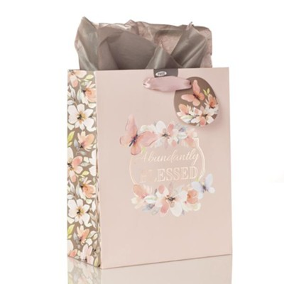 Abundantly Blessed, Gift Bag, Medium  -