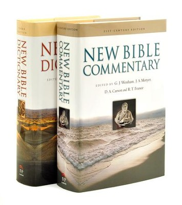 New Bible Dictionary and Commentary Set 2 Volumes  -