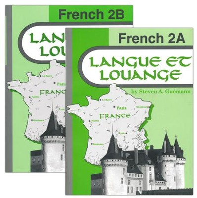 Abeka Langue et louange French Year 2 A & B   -