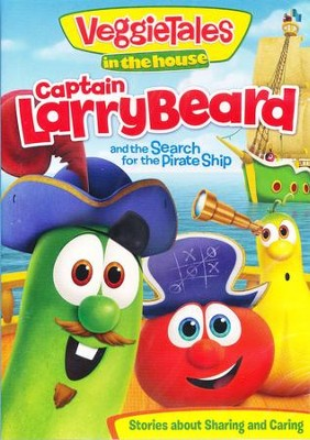 VeggieTales in the House: Captain Larry-Beard and the Search for  the Pirate Ship, DVD  -