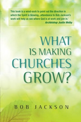 What is Making Churches Grow?: Vision and practice in effective mission  -     By: Bob Jackson
