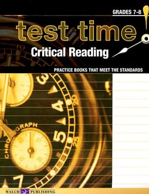 Test Time! Critical Reading   -     By: Lisa French