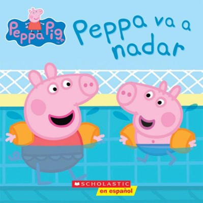 Peppa va a nadar (Peppa Pig) - Spanish  -     Illustrated By: Eone