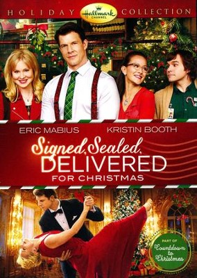 Signed, Sealed, Delivered Christmas DVD   -