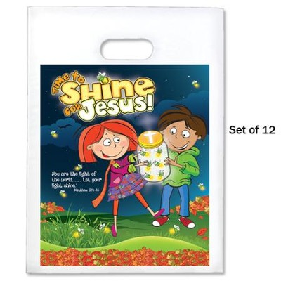 Time to Shine Goodie Bags, Pack of 12  -