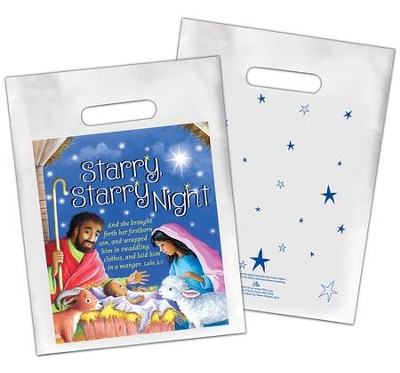 Starry, Starry Night Goodie Bags, pack of 12  -