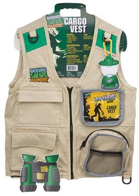 Back Yard Safari Cargo Vest   -
