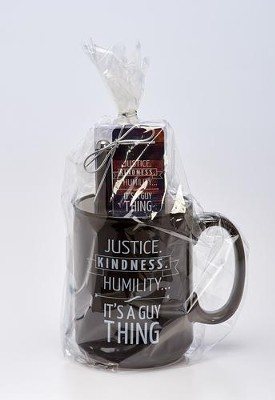 Micah 6:8 Mug, Pen, Bookmark Gift Set  -