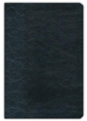 KJV Cameo Reference Bible, Imitation leather, black  -