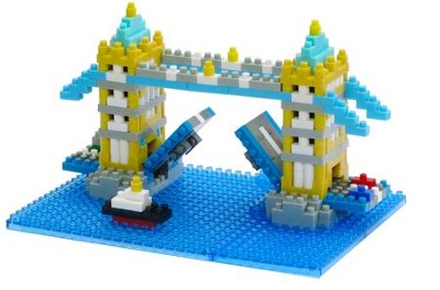 Nanoblock Sights To See, Tower Bridge   -