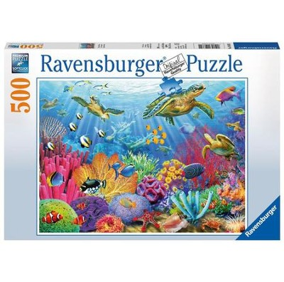 Tropical Waters, 500 Piece Puzzle  -