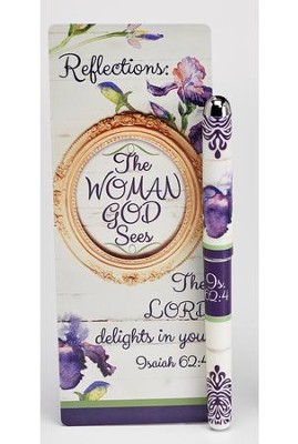 The Woman God Sees, Pen and Jumbo Bookmark Gift Set, ESV  -
