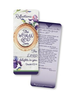 The Woman God Sees, Jumbo Bookmark, ESV  -