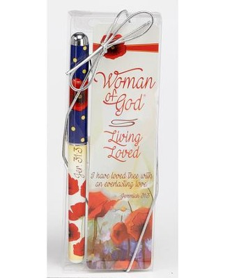 Living Loved, Pen and Bookmark Gift Set  -